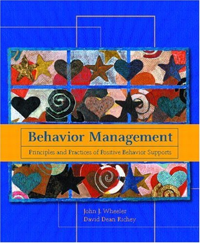 Behavior Management Principles and Practices of Positive Behavior Supports  2005 edition cover
