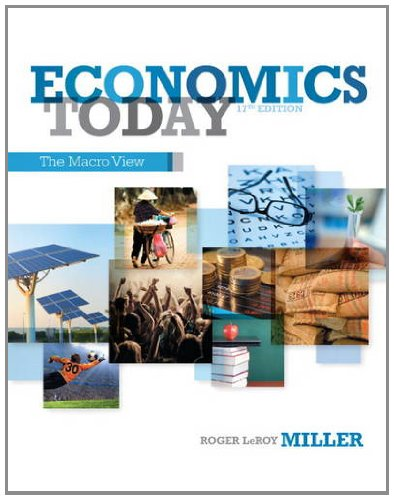 Economics Today The Macro View 17th 2014 9780132948890 Front Cover