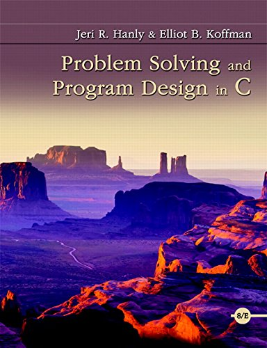 Problem Solving and Program Design in C:   2015 edition cover