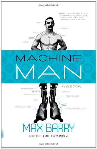 Machine Man   2011 edition cover