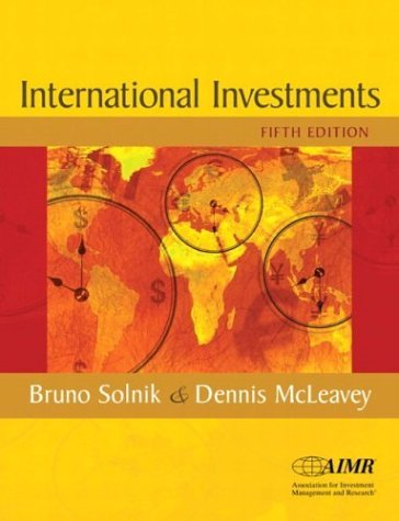 International Investments and Research Navigator Package  5th 2004 (Revised) 9780321223890 Front Cover
