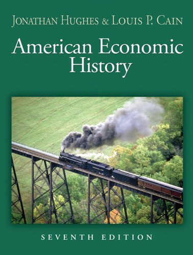 American Economic History  7th 2007 (Revised) edition cover