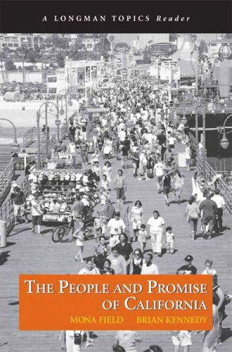 People and Promise of California   2008 edition cover