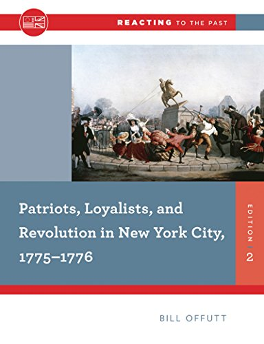 Patriots, Loyalists, and Revolution in New York City, 1775-1776:   2015 edition cover