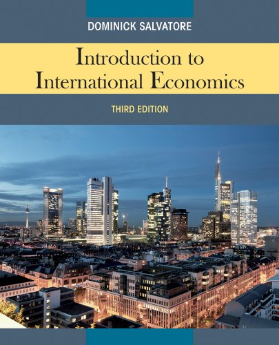 Introduction to International Economics  3rd 2012 edition cover