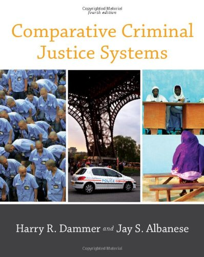 Comparative Criminal Justice Systems  4th 2011 edition cover