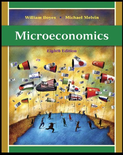 Microeconomics  8th 2011 (Student Manual, Study Guide, etc.) 9780538753890 Front Cover