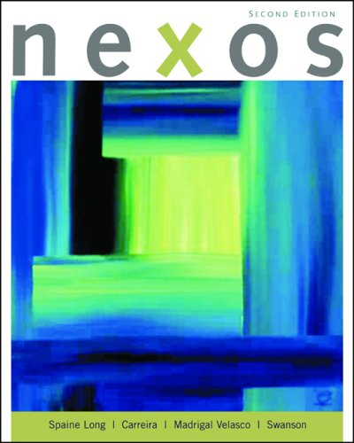 Nexos  2nd 2010 9780547171890 Front Cover