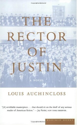 Rector of Justin A Novel  2002 edition cover