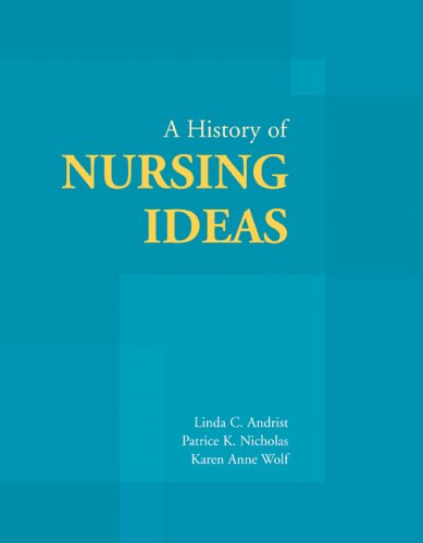 History of Nursing Ideas   2006 edition cover