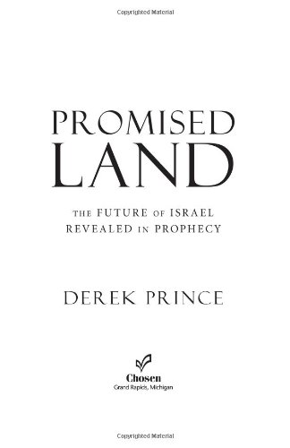 Promised Land The Future of Israel Revealed in Prophecy  2005 edition cover