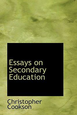 Essays on Secondary Education N/A 9781115430890 Front Cover