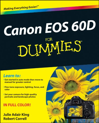 Canon EOS 60D for Dummies�   2011 9781118004890 Front Cover