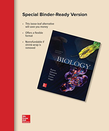 BIOLOGY  (LOOSELEAF)                    N/A 9781259668890 Front Cover