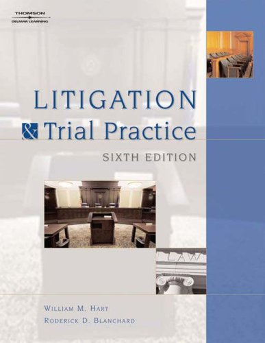 Litigation and Trial Practice  6th 2007 (Revised) edition cover