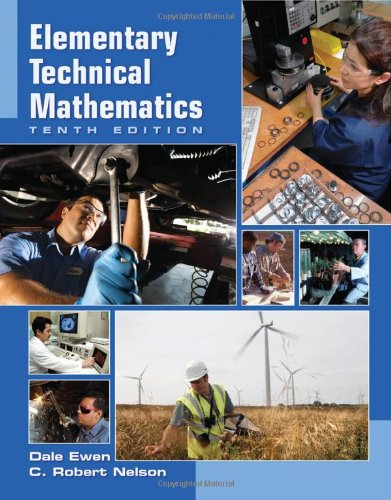 Elementary Technical Mathematics  10th 2011 edition cover