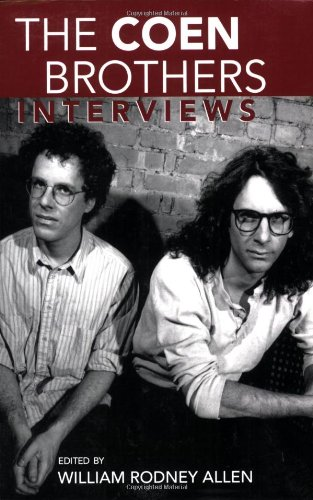 Coen Brothers Interviews  2006 edition cover
