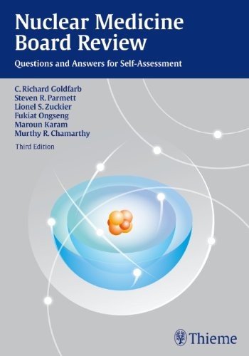 Nuclear Medicine Board Review Questions and Answers for Self-Assessment 3rd 2012 edition cover