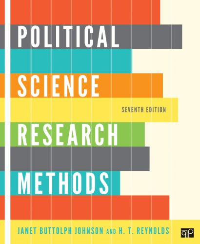 Political Science Research Methods  7th 2012 (Revised) 9781608716890 Front Cover