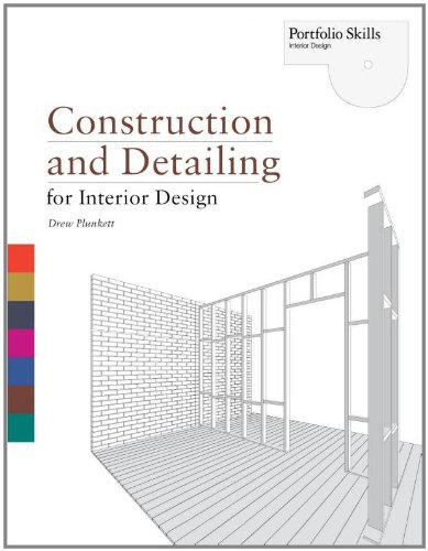 Construction and Detailing for Interior Design   2010 edition cover