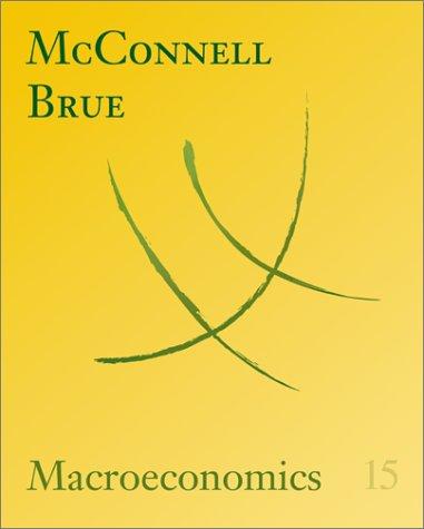 Macroeconomics  15th 2002 edition cover