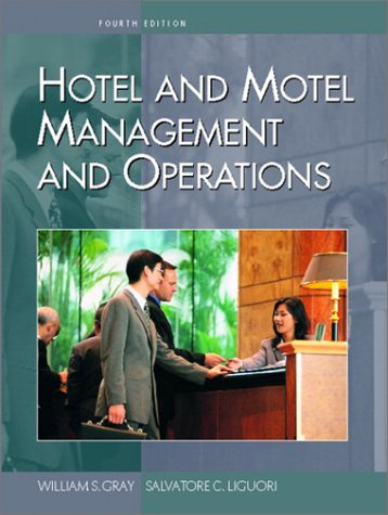 Hotel and Motel Management and Operations  4th 2003 (Revised) edition cover