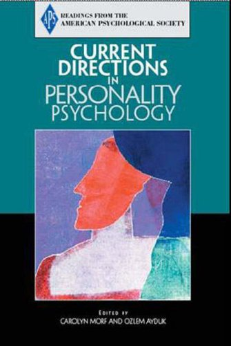 Current Directions in Personality Psychology   2005 edition cover