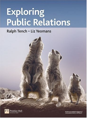 Exploring Public Relations   2006 9780273688891 Front Cover