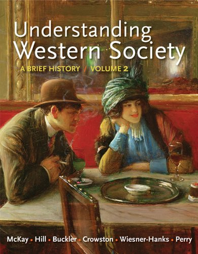 Understanding Western Society A Brief History - From the Age of Exploration to the Present  2012 edition cover