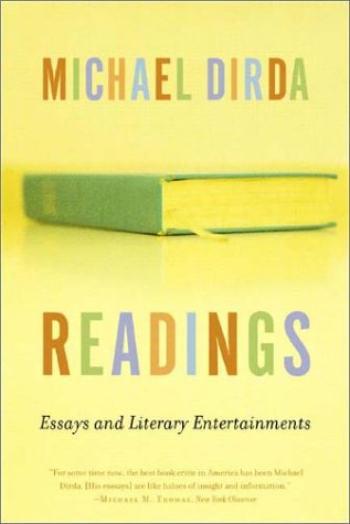 Readings Essays and Literary Entertainments  2004 edition cover