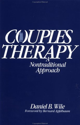 Couples Therapy A Nontraditional Approach  1981 edition cover