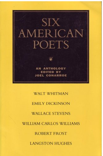 Six American Poets An Anthology N/A 9780679406891 Front Cover