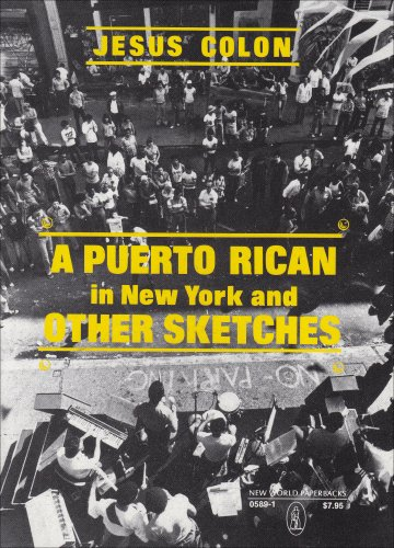 Puerto Rican in New York and Other Sketches  Reprint  edition cover