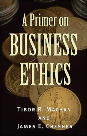 Primer on Business Ethics   2002 9780742513891 Front Cover