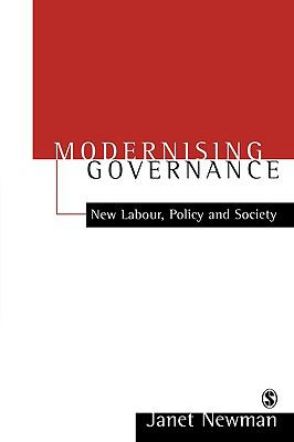 Modernizing Governance New Labour, Policy and Society  2001 9780761969891 Front Cover