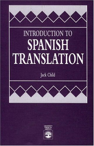 Introduction to Spanish Translation  N/A edition cover