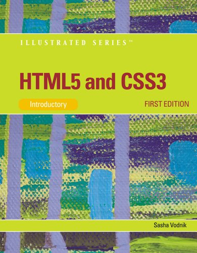 HTML5 and CSS3 - Introductory   2012 edition cover