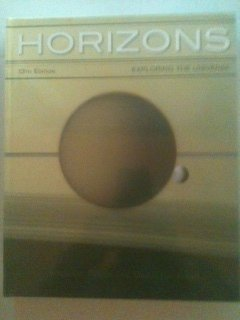 HORIZONS:EXPLORING THE UNIVERS N/A edition cover