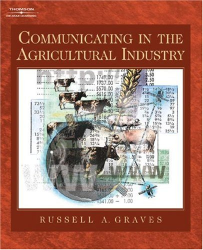 Communicating in the Agriculture Industry   2005 9781401808891 Front Cover