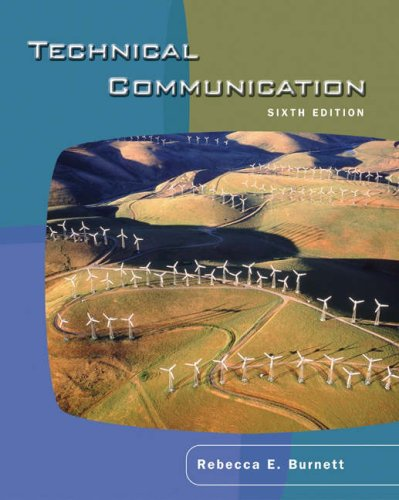 Technical Communication  6th 2005 (Revised) edition cover