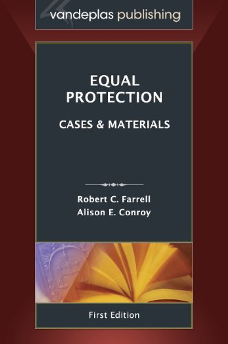 Equal Protection Cases and Materials, First Edition 2013 N/A edition cover