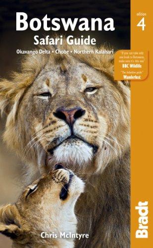Botswana Okavango Delta, Chobe, Northern Kalahari 4th 2014 (Revised) edition cover