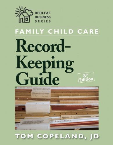 Family Child Care Record-Keeping Guide  8th 2010 9781933653891 Front Cover