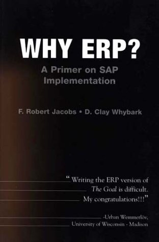 Why ERP? - A Primer on SAP Implementation   2000 9780072400892 Front Cover