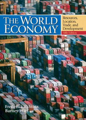 World Economy Resources, Location, Trade and Development 5th 2007 (Revised) edition cover