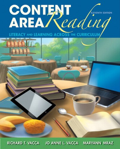 Content Area Reading  11th 2014 edition cover