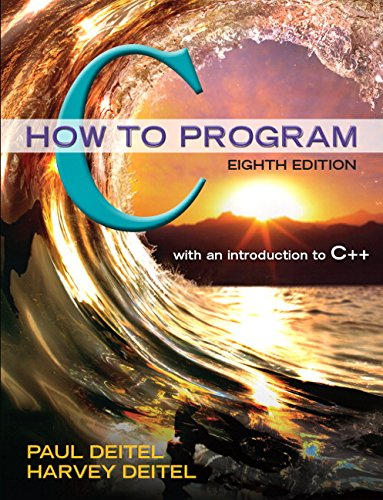 How to Program C:   2015 edition cover