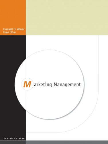 Marketing Management  4th 2011 edition cover
