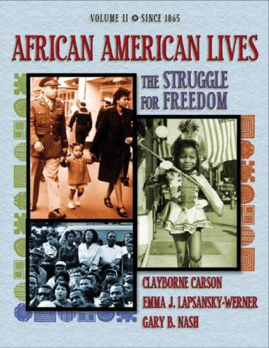 African American Lives The Struggle for Freedom  2005 edition cover