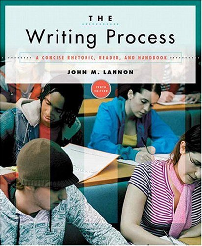 Writing Process A Concise Rhetoric, Reader, and Handbook 10th 2009 edition cover